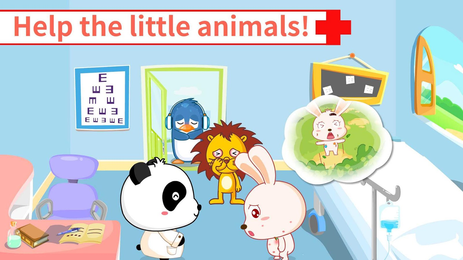Baby Panda's Hospital- screenshot