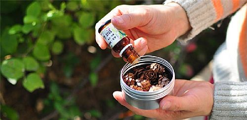 松果盒天然擴香精油