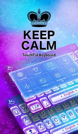 Cool Keep Calm Keyboard Theme 6.1.21 screenshot 1196679