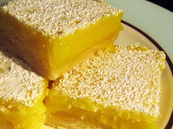 Grandmother's Lemon Squares Recipe