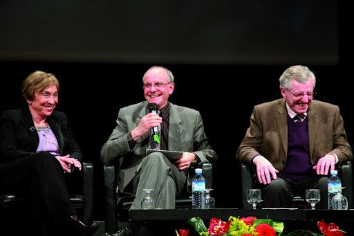Table ronde - Axel Kahn Elena Kristeva et Bruno Frappat (édition 2011)