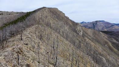 Photo: Approaching Willow Peak