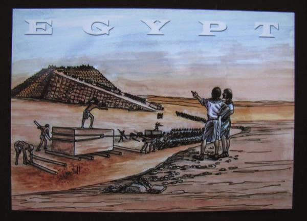 Как строили пирамиды Египта