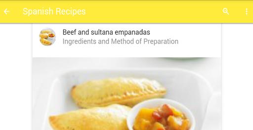 玩免費遊戲APP|下載Spanish Recipes app不用錢|硬是要APP