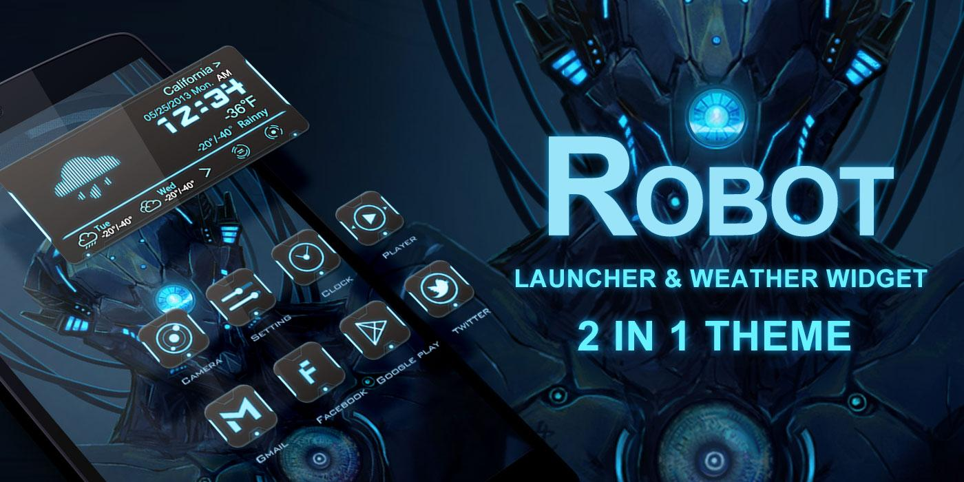 Google themes rasta -  Free Robot 2 In 1 Theme Screenshot