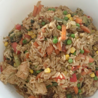 Family Friendly Chicken Fried Rice