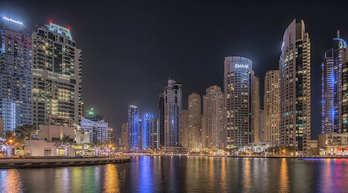 Dubai Marina by Henk Smit - City,  Street & Park  Skylines