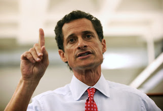 Photo: NEW YORK, NY - JULY 23:  Anthony Weiner, a leading candidate for New York City mayor, answers questions during a press conference on July 23, 2013 in New York City. Weiner addressed news of new allegations that he engaged in lewd online conversations with a woman after he resigned from Congress for similar previous incidents.  (Photo by John Moore/Getty Images)