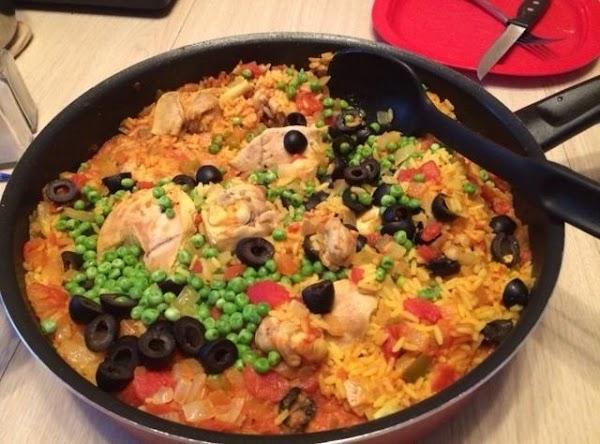 Spanish Chicken With Rice Recipe