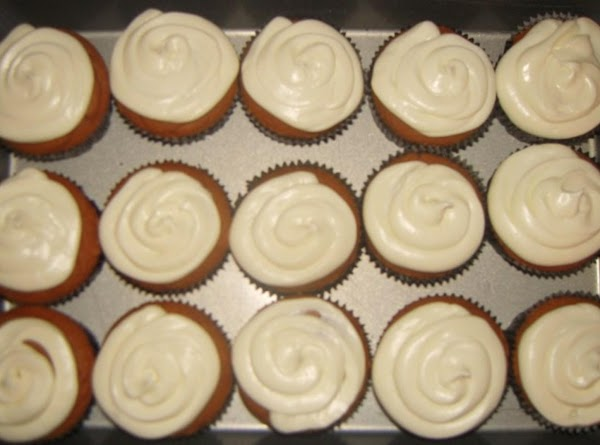 Place frosting in a sandwich or ziploc bag and snip the corner, swirl frosting...