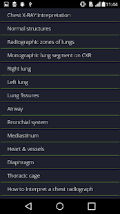 Chest Radiographs- screenshot thumbnail