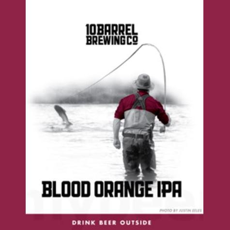 Logo of 10 Barrel Blood Orange IPA