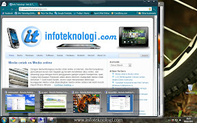 Tampilan Remote Desktop di Windows 7