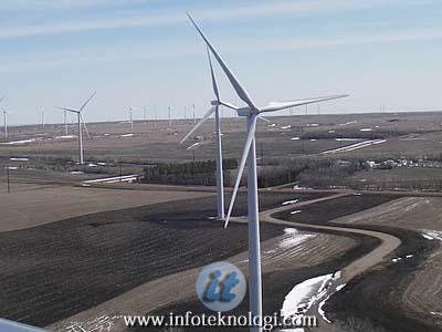 Pembangkit listrik bertenagakan kincir angin