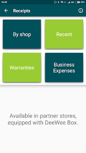 Smart Shopping Companion: Tap-n-Go eReceipt (Unreleased)- screenshot thumbnail