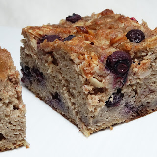Paleo Blueberry Banana Coffee Cake with Video.