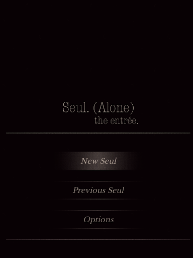 Seul (Alone) The entrée - Text Based Thriller CYOA image | 6