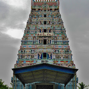 Hindu temple by Govindarajan Raghavan - Buildings & Architecture Places of Worship