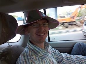 Photo: Kev got a hat