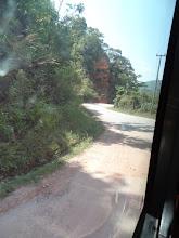 Photo: Route entre Udomxay et Luang Prabang