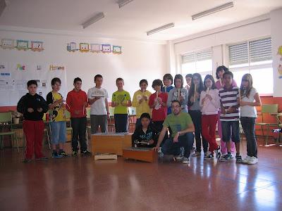 Alumnos Castillo de Gauzón Ensayos