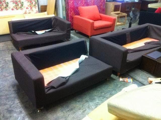 簡約風布沙發