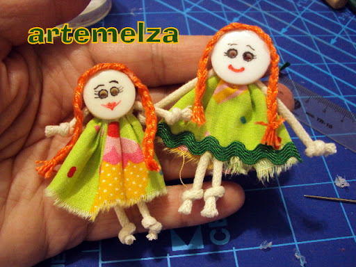 artemelza - broche boneca