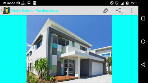 Home exterior painting ideas for android for App for painting exterior of house