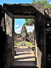 Photo: gateway into the Khmer sanctuary in Phimai
