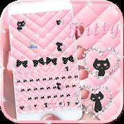 App Love kitty pink keyboard Theme APK for Windows Phone