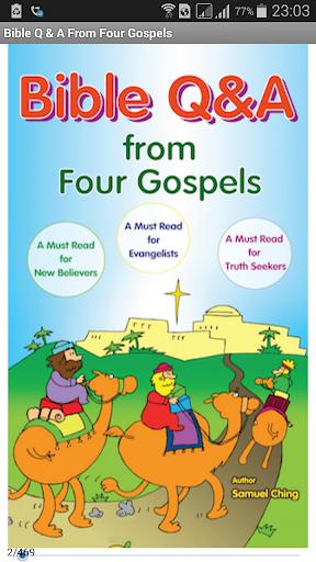 Bible Q A From Four Gospels