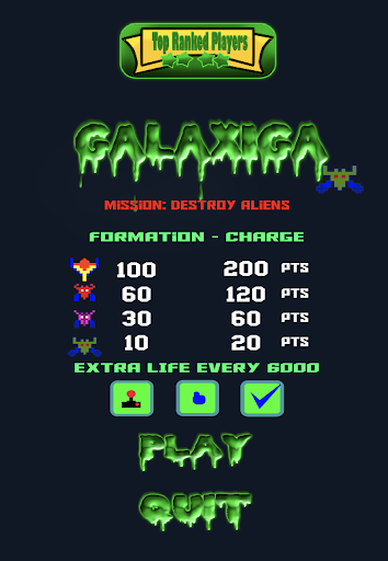 Galaxiga - Space Shooter  screenshots 1