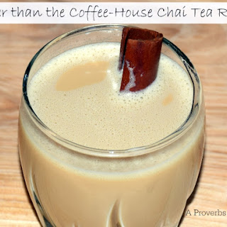 Better than the Coffee House Chai Tea.