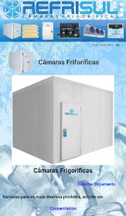 Câmaras Frigorificas Refrisul - náhled