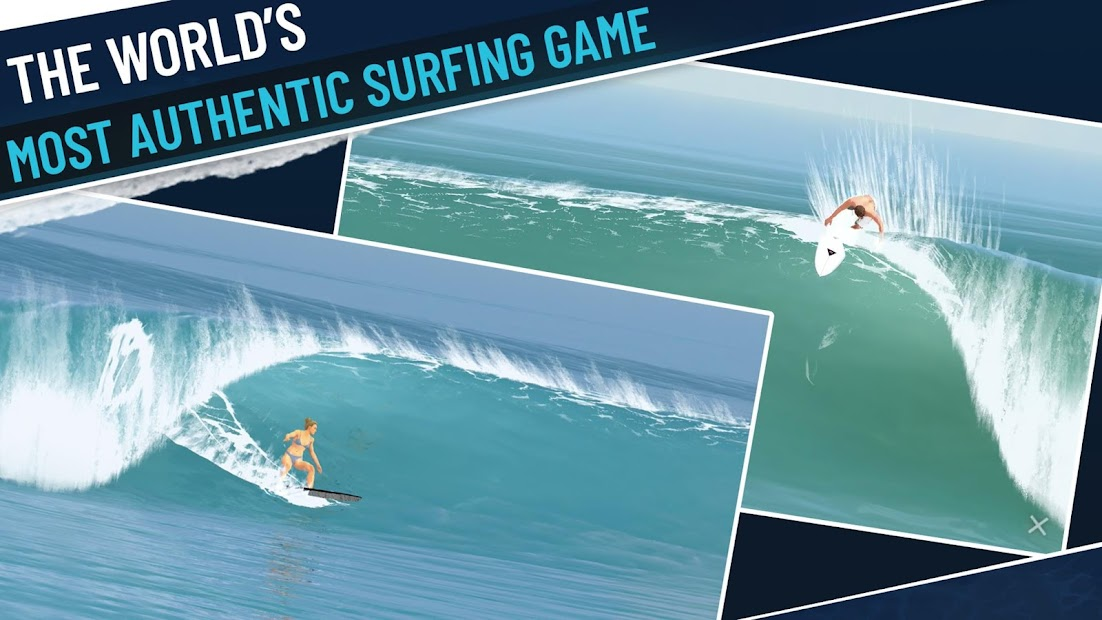 True Surf Android App Screenshot