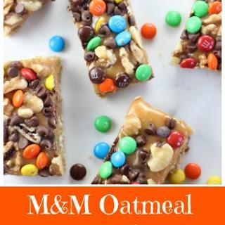 M&M Oatmeal Carmelitas