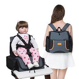 Geanta scaun inaltator bebe, rusac multifunctional