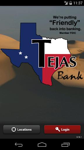 TEJAS BANK MOBILE BANKING