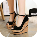 Modern Wedges Shoes icon