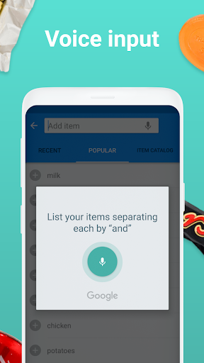 Shopping list - Listonic screenshot 6