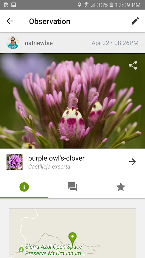 iNaturalist- screenshot