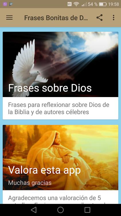 Frases Bonitas De Dios Android Aplicaciones Appagg