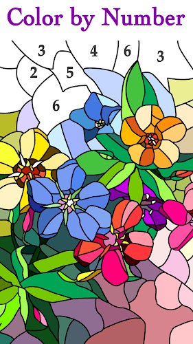 Happy Color™ – Color by Number Android App Screenshot