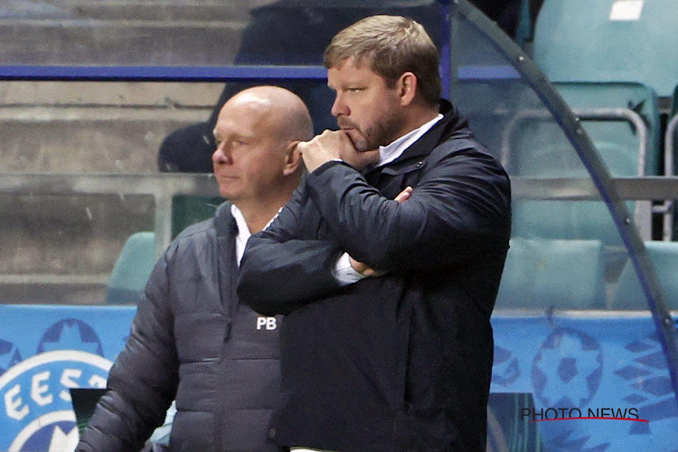 """Vanhaezebrouck n'était pas ravi à la pause : """"Un point ici, j'aurais été content"""""""