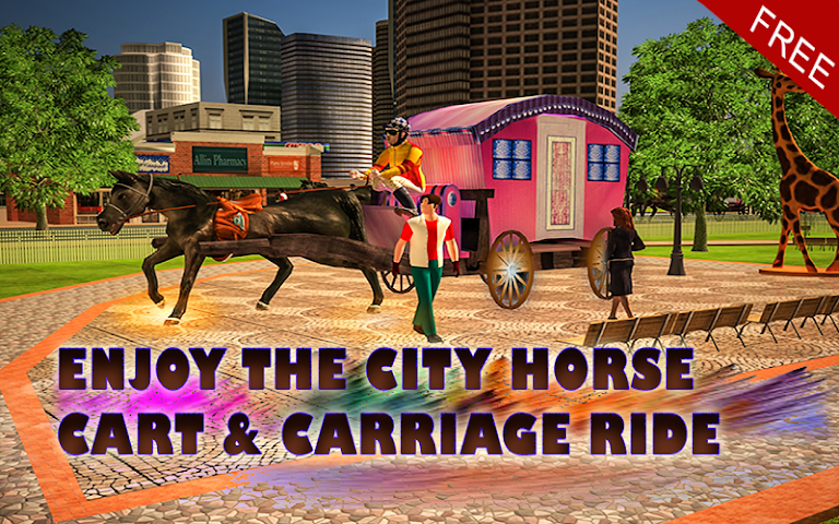 android Horse Carriage Transport Drive Screenshot 6
