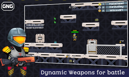 Code Triche Guns 'N' Guys - pvp multiplayer action game APK MOD (Astuce) screenshots 4