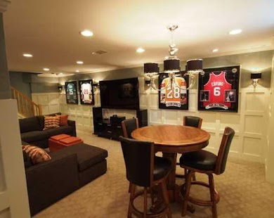Basement Design Ideas finished basement design Basement Design Ideas Screenshot Thumbnail