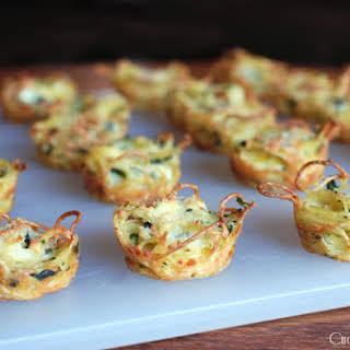 Cheese-y Pasta Bites.