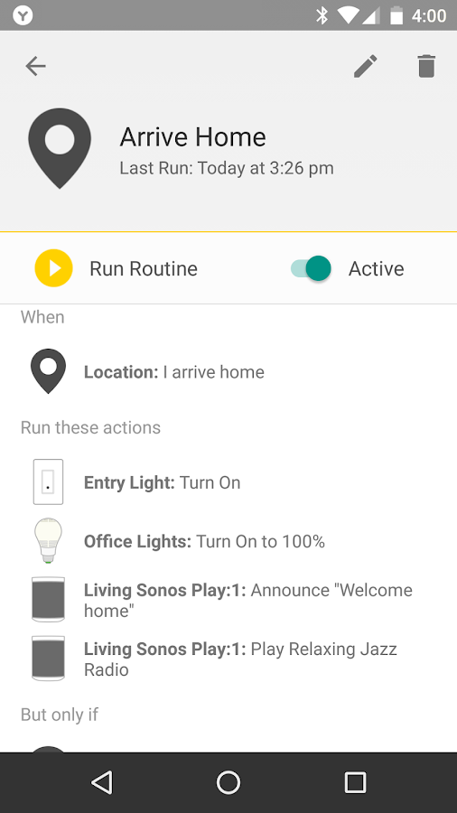 Yonomi - Smart Home Automation- screenshot