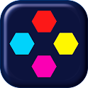 Dots Honeycomb: two dots icon